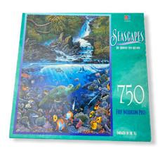 Milton Bradley Jigsaw Puzzle Seascapes Embraced by the Sea 750 Pieces Ne... - $19.79
