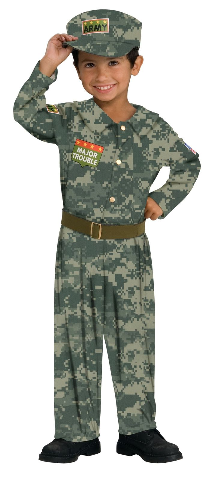 Infant Soldier Halloween Costume   1-2 Years
