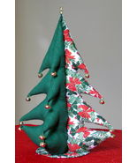 """Giant Christmas Tree (stuffed) bells star unique Item 18"""" tall Great Gif... - $39.95"""