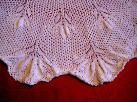 Vintage Design Tablecloth knitted image 3