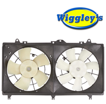 A/C DUEL FAN ASSEMBLY 620-579 FOR 12 13 14 15 CHEVROLET CAMERO 3.6L V6  image 1