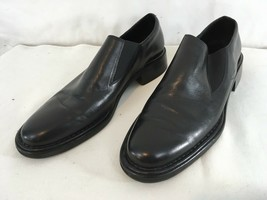 Cole Haan City CO1698 Mens 10 1/2 M Black Leather Loafer Slip On Shoes - $28.71
