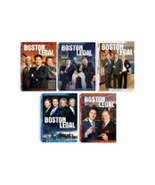 Boston Legal The Complete Series Seasons 1-5 DVD 2017 Brand New Sealed - $48.50