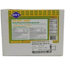 Instant Sponge Cake (Genoise) Mix, Vegan - 1 box - 11 lbs - $77.38