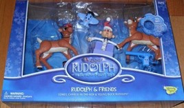 Rudolph & Friends Comet, Charlie-In-The-Box & Young Buck Rudolph The Isl... - $70.29