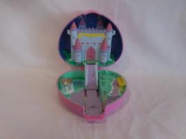 Polly Pocket Bluebird Starlight Castle Playset Pink Heart Vintage 1992 - $37.02