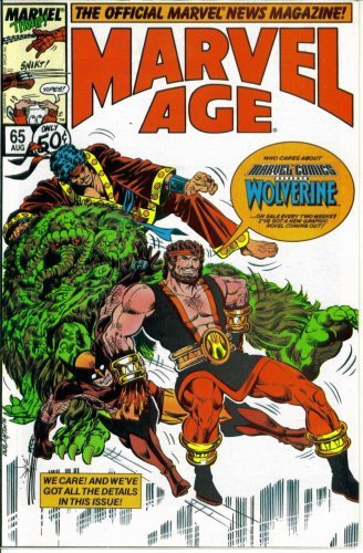 Marvel Age - The Official Marvel News Magazine #65 : Marvel Comics Presents