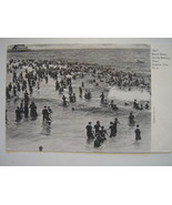 Early 1900s Postcard - Atlantic City, New Jersey Beach Scene - $8.00