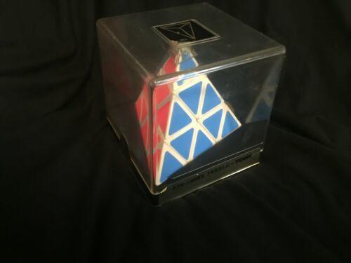 NOS New Vintage Sealed in Box Vintage PYRAMINX PUZZLE by TOMY Rubik's Type 1980s