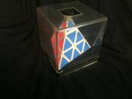 NOS New Vintage Sealed in Box Vintage PYRAMINX PUZZLE by TOMY Rubik's Type 1980s image 1