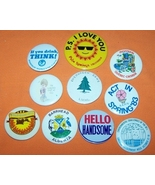 Advertising Buttons 10 P.S. I Love You  - $7.00