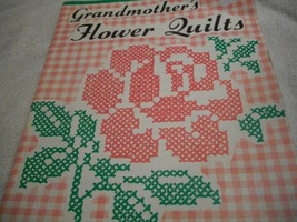 Grandmother's Flower Quilts Cross Stitch Patterns  - $5.00