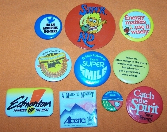 Advertising Buttons 10 Super Kit