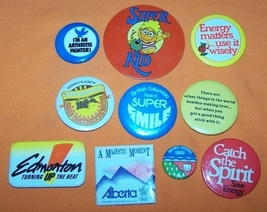 Advertising Buttons 10 Super Kit - $7.00