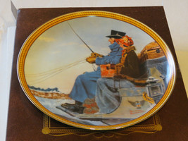 Norman Rockwell's Colonials The Journey Home collector plate 15625B 1987 #% - $16.03
