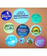 Advertising Buttons 10 Lets Start A Permanent Relationship - $7.00