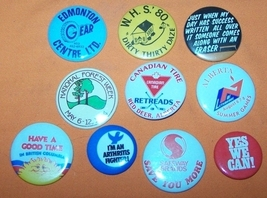 Advertising Buttons 10  Dirty Thirty Daze - $7.00
