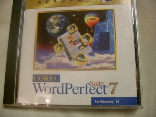 Corel Word Perfect Suite 7  Academic Edition [CD-ROM]