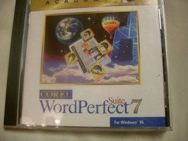 Corel Word Perfect Suite 7  Academic Edition [CD-ROM]  - $29.99