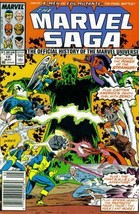 The Marvel Saga: The Official History of the Marvel Universe #18 (Marvel... - $7.99