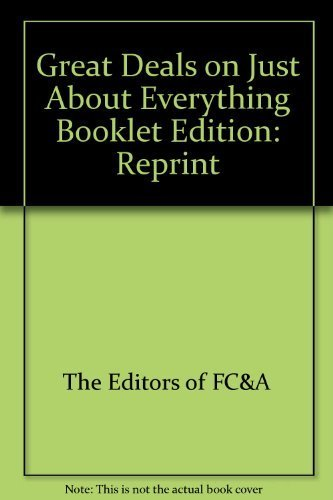 Great Deals on Just About Everything Booklet [Paperback]