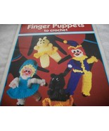 Finger Puppets To Crochet - $5.00