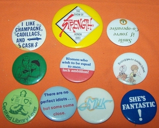 Advertising Buttons 10