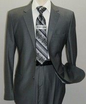 Men Suit Massimo Rossi Turkey European Slim single breasted Soft Wool Bl... - $89.97