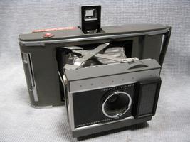Vintage Polaroid Model J66 Land Instant Camera with Leather Case - $16.00