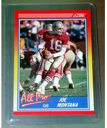 Trading Cards / Sports Cards - 1990 SCORE - ALL PRO #582 - JOE MONTANA - $8.00