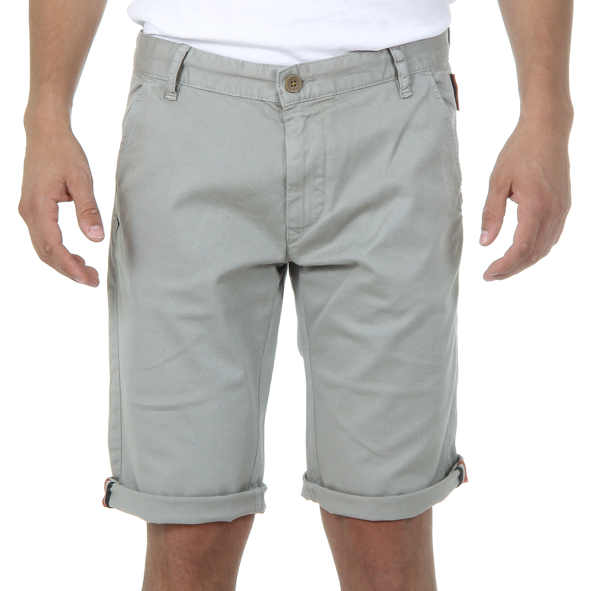 Primary image for Andrew Charles Mens Shorts Light Grey SADECK