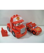 LEGO DUPLO DISNEY CARS 3 FLO'S CAFE LIGHTNING MCQUEEN CAR MACK TRUCK 10846 - $22.49