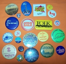 Advertising Buttons 22 CN Tower - $7.00