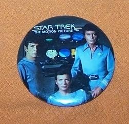 Advertising Button  Star Trek