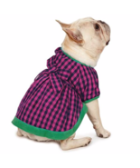 Isaac Mizrahi Modern Gingham Dog Dress Pink & Green NWT Sz Small - $21.78