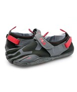 Fila Mens 11 Skeletoes Black EZ SLIDE Five Finger Barefoot Running Shoe ... - $29.99