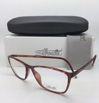 New SILHOUETTE Eyeglasses SPX 1560 20 6111 52-14 130 Tortoise Lightweigh... - $249.95