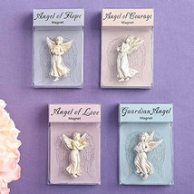 12 Stunning Guardian Angel Magnets Religious Favors - €37,31 EUR
