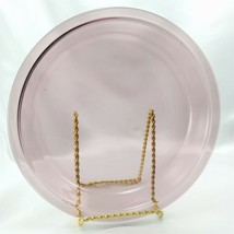 "Pyrex 209 Cranberry Pie Plate 9"" Vintage Made in the USA - $12.95"