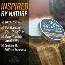 Shaving Soap - Traditional 100% Natural Cedar Spice Shave Soap - Long Lasting 3. image 3