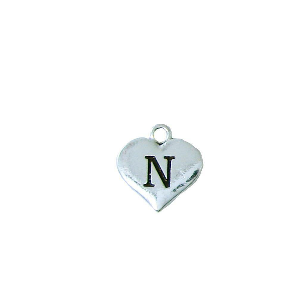 Custom Cheer Coach Thank You Gift Silver Necklace Jewelry Choose Initial image 15