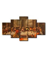 Large Jesus The Last Supper Wall Art Christian Poster Christ Canvas Prin... - $67.95