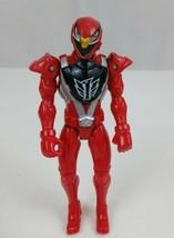 """2008 Bandai Power Rangers RPM Full Throttle Red Eagle Ranger 5.5""""Action ... - $5.94"""