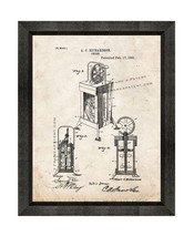 Churn Patent Print Old Look with Beveled Wood Frame - $24.95+