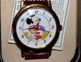 Mickey Mouse Watch Dial Teddy Bear & Doll Disney Limited Edition Nib - $115.78