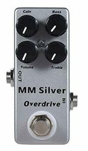 *YMUZE Mosky MM Silver overdrive electric guitar effects pedal (MM Overdrive) - $37.88