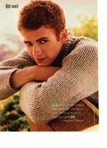 Hayden Christensen teen magazine pinup clippingoutside Star Wars Bop Tiger Beat