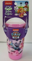 Paw Patrol Pink Playtex Spoutless Cups 10oz Stage 2 Girls 12m+ Sippy Cup - $8.00