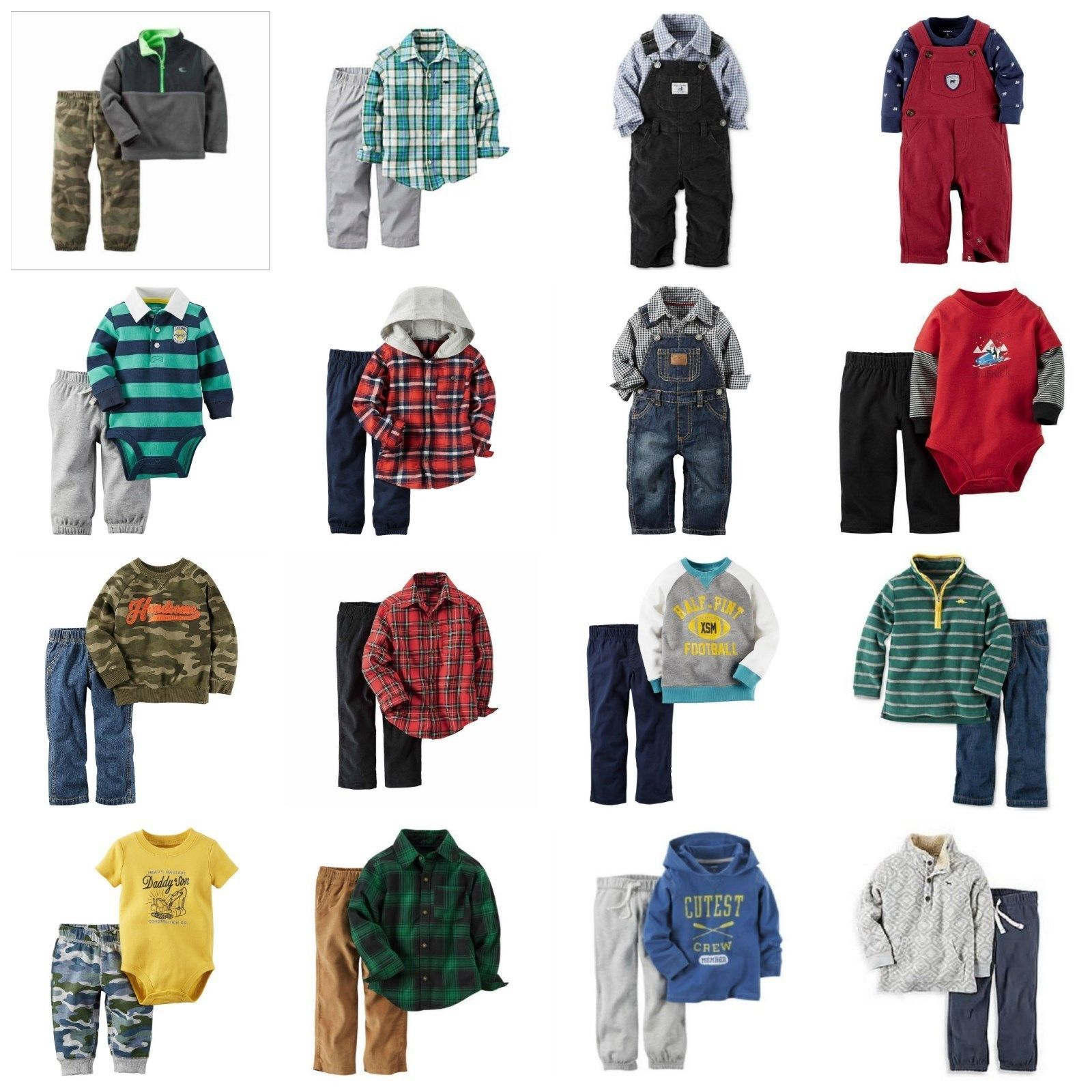 b90fd156d NWT Carter's Baby Boy 2-Pc Outfits Sets and 24 similar items