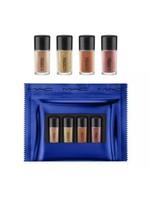 MAC 4-Pc Shiny Pretty Things Party Favours Mini Glitter & Pigment Set, GOLD - $32.73